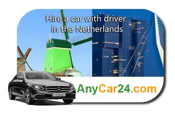 Hire a car with driver in the Netherlands